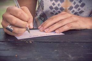 ecrire une liste